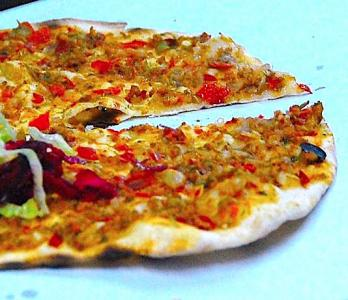 Lahmacun - turkisk pizza