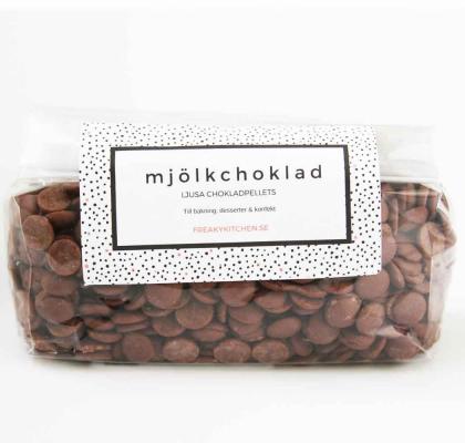 Mjölkchokladpellets