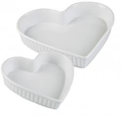 Bakform hjärta i silikon 3-pack 4e433285277ee