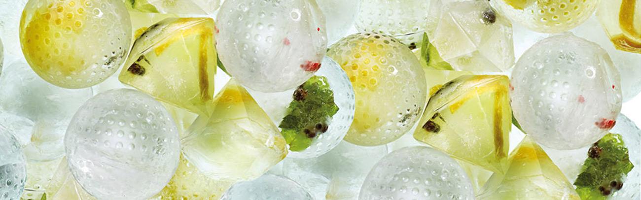 Isbollar och isdiamanter