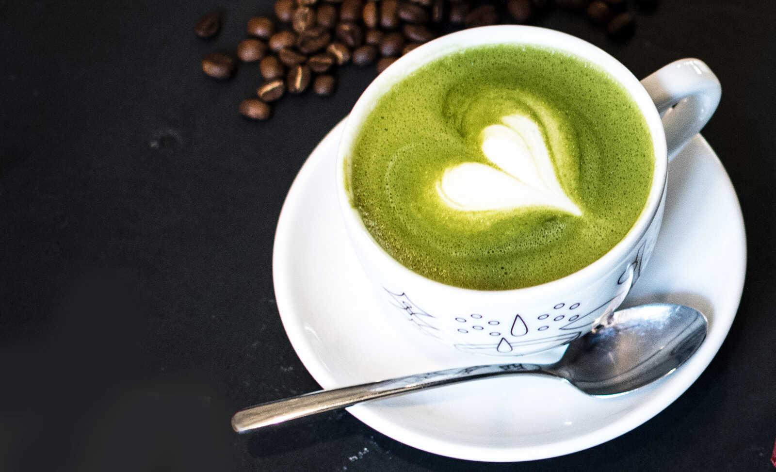 Matcha latte på freakykitchen