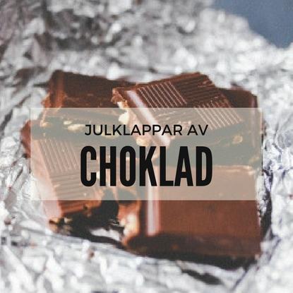 Choklad-klappar