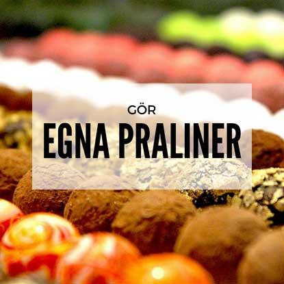 praliner & chokladtillverkning
