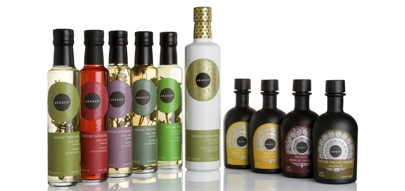 Produkter från Aragem